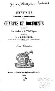 Vol 5-7: Inventaire analytique et chronologique des chartes et documents appartenant aux Archives de la ...