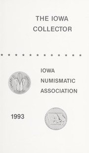 The Iowa Collector: Summer 1993, Vol. 28 No. 2