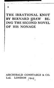 the irrational knot bernard shaw free download borrow