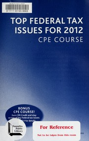 2010 us master tax guide cch incorporated free download borrow top federal tax issues for 2012 cpe course fandeluxe Images