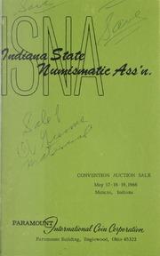 Indiana State Numismatic Association Convention Auction Sale