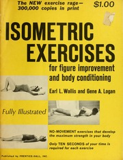 Isometric exercises for figure improvement and body