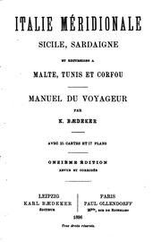 Italie méridiionale, Sicile, Sardaigne, et excursions à Malte, Tunis, et ...