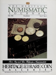 The Ivy Numismatic Monthly: 1984