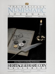 The Ivy Numismatic Monthly: 1987