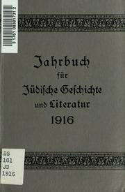 Vol 19: Jahrbuch für jüdische Geschichte und Literatur