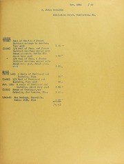 Jaime Gonzalez Invoices from B.G. Johnson, November 25, 1940