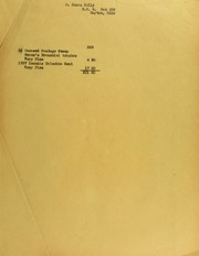 James Kelly Invoices from B.G. Johnson, January 3, 1940, to December 4, 1940