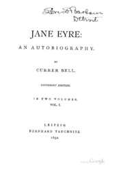 autobiographical element in jane eyre Transcript of jane eyre as an autobiography jane eyre as a semi-autobiographical work charlotte bronte was born in yorkshire, england jane eyre is also english from the beginning of jane eyre, this novel is already starting off as an autobiography the beginning family the family aspect of jane.