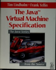 The Java virtual machine specification : Lindholm, Tim, 1961
