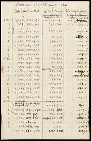 Gold settlement 1860-1886