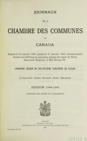 Journaux de la chambre des communes du canada volume 45 for Chambre de commune