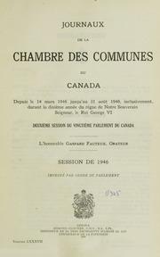 Journaux de la chambre des communes du canada volume73 for Chambre de commune