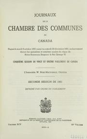 Journaux de la chambre des communes du canada canada for Chambre de commune
