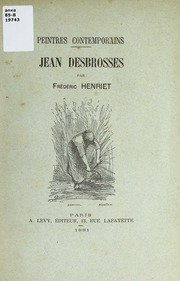 Jean Desbrosses : esquisse biographique