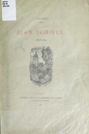 Jean Sorieul, 1823-1871