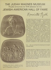 The Jewish-American Hall of Fame Newsletters