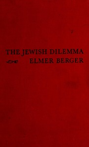 jewish singles in elmer Find great deals on ebay for elmer jacobs  phillies cardinals cubs vintage single signed baseball  elmer berger and american jewish anti-zionism by jack ross.