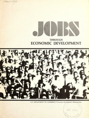 Jobs through economic development