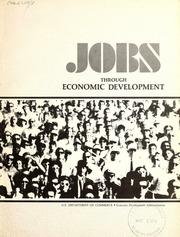 Jobs through economic development