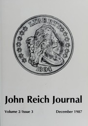 John Reich Journal, December 1987