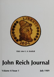 John Reich Journal, July 1989