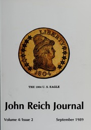 John Reich Journal, September 1989