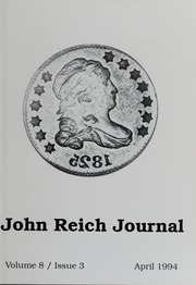 John Reich Journal, April 1994