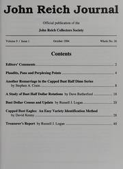 John Reich Journal, October 1994
