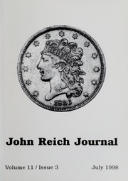 John Reich Journal, July 1998