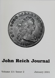 John Reich Journal, January 2001