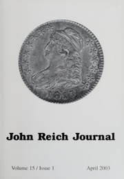 John Reich Journal, April 2003