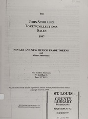 The John Schilling Token Collections Sales, 1997