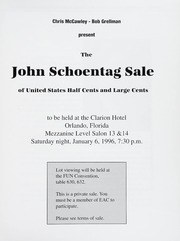 The John Schoentag Sale of U.S. Half Cents & Large Cents