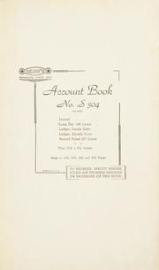 Johnson Estate cash book, 1948-1956