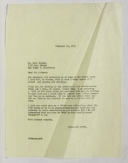 Emil Johnson Correspondence, 1949-1951