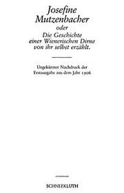 Mutzenbacher die Full text