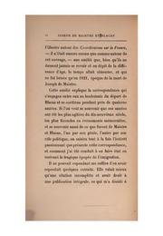 Joseph de Maistre et Blacas, leur correspondance inédite et l-histoire de leur amité, 1804-1820