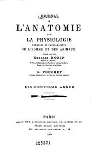 Journal de l-anatomie et de la physiologie normales et pathologiques de l-homme et des animaux