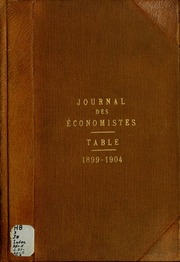 Vol 37: Journal des économistes