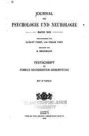 Journal für Psychologie und Neurologie