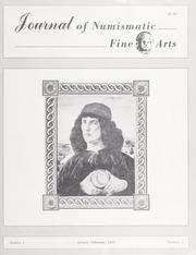 Journal of Numismatic Fine Arts: Vol. 1 No. 1