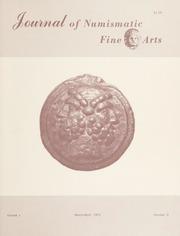 Journal of Numismatic Fine Arts: Vol. 1 No. 3
