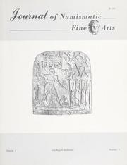 Journal of Numismatic Fine Arts: Vol. 1 No. 5