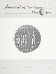 Journal of Numismatic Fine Arts: Vol. 1 No. 8