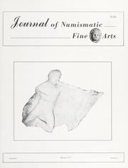 Journal of Numismatic Fine Arts: Vol. 2 No. 1