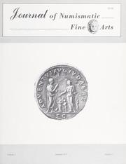 Journal of Numismatic Fine Arts: Vol. 2 No. 3