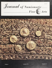 Journal of Numismatic Fine Arts: Vol. 3 No. 2-4