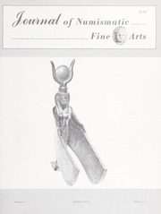 Journal of Numismatic Fine Arts: Vol. 3 No. 1