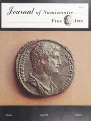Journal of Numismatic Fine Arts: Vol. 4 No. 1